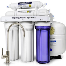 iSpring RCC7 - WQA 5 stage Reverse Osmosis System