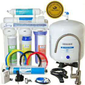iSpring RCC7 WQA 5-Stage Reverse Osmosis System