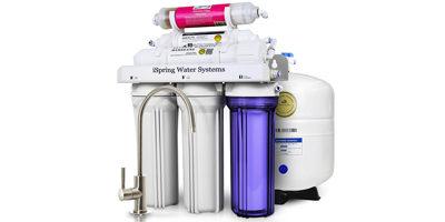 iSpring RCC7AK-UV 7-Stage Reverse Osmosis System