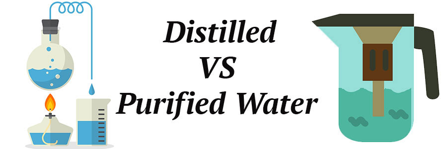 Distilled Water Vs Purified Water