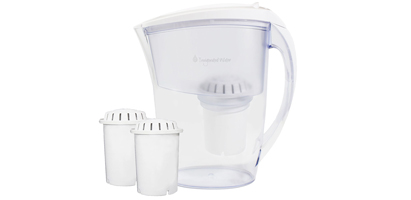 Invigorated Living pH RESTORE Water Filter Pitcher