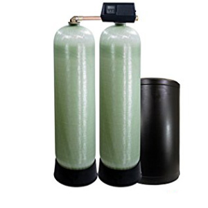 Fleck 9100SXT 96,000 Grain Dual Tank Water Softener