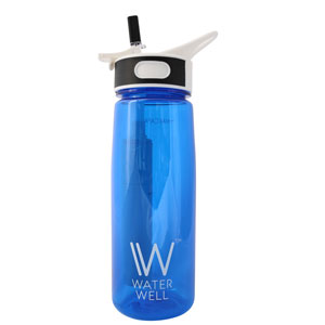 WaterWell Travel Water Bottle