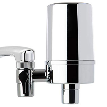 Ceramic White Faucet Mount Water Filter System Replacement Purifier Cartridge FO