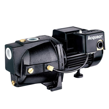 Acquaer SJC075 Dual-Voltage Cast Iron Shallow Well Jet Pump