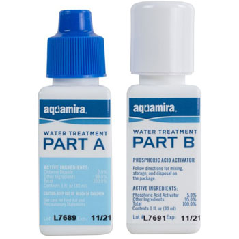 Aquamira – Chlorine Dioxide Water Treatment Two Part Liquid