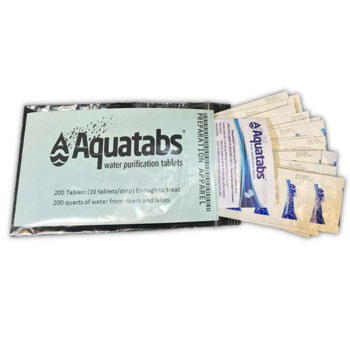 Aquatabs AQT100 Water Purification Tablets