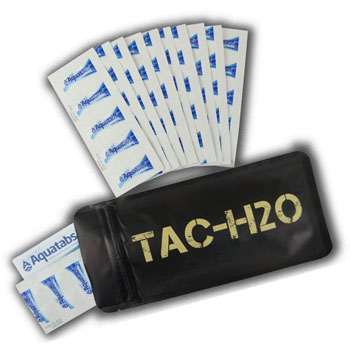 Expedition Research LLC TAC-H2O Water Purification Tablets