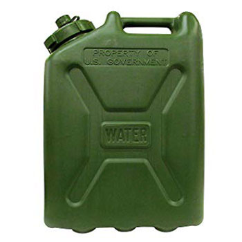 LCI Plastic Water Can, Desert Sand, 5-gallon by LCI