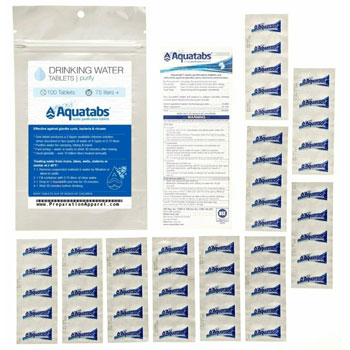 Mightie Company Worlds #1 Water Purification Tablets