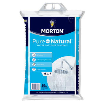 Morton U26624S Pure AND Natural Water Softening Crystals