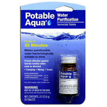 Potable Aqua Water Purification Treatment