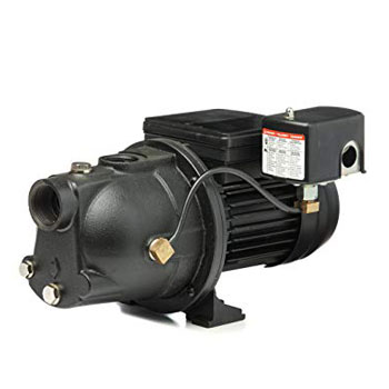 Red Lion PWJET50 Cast Iron Shallow Well Jet Pump