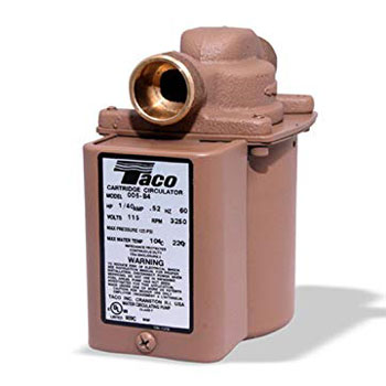 Taco 006-B4 Bronze Circulator Pump ¾-Inch Sweat