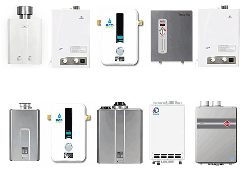 Types of Electric Tankless Water Heaters