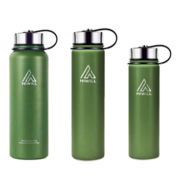 Hiwill Stainless Steel Insulated Water Bottle