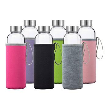 Ottis Classic Glass Water Bottles