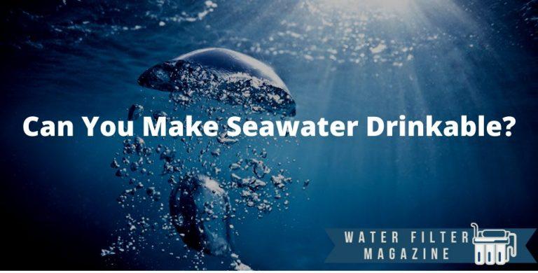 making seawater drinkable