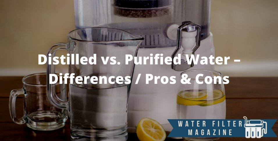 distilled vs. purified water