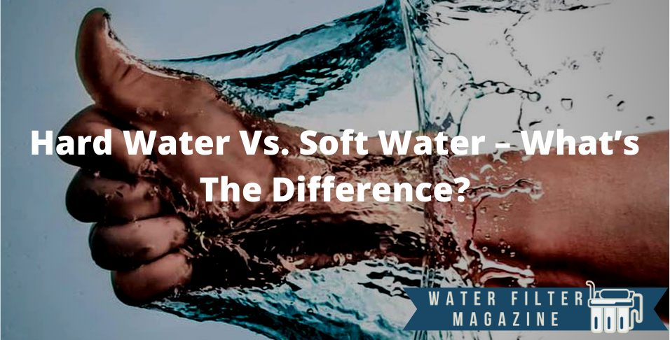 what is the difference between hard and soft water