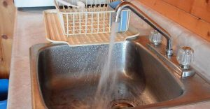 how to remove air in the hot water line