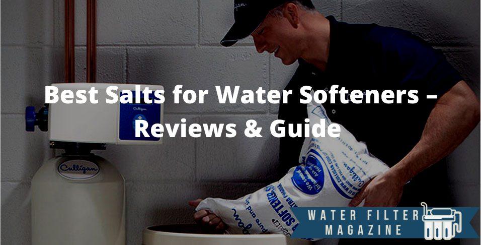 choosing salt for water softeners