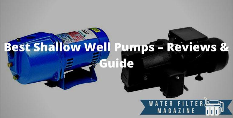 choosing shallow well pumps