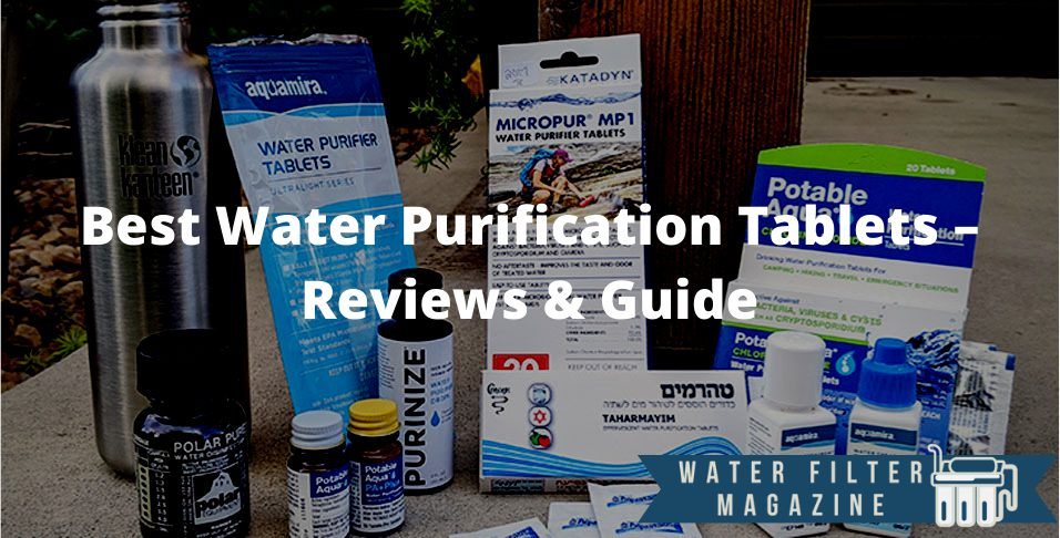 choosing water purification tablets