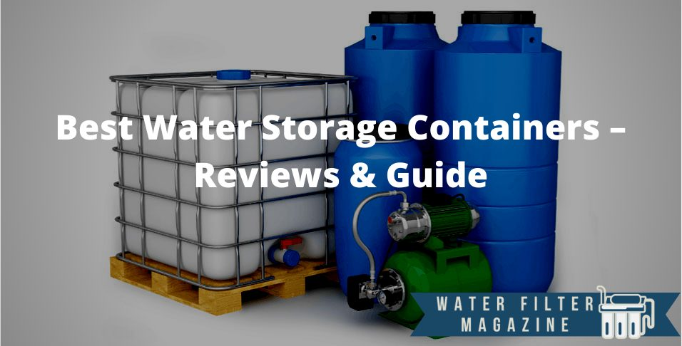 choosing water storage containers