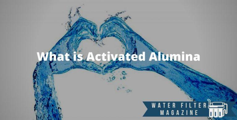 using activated alumina