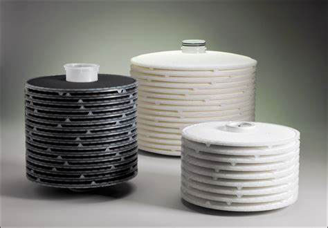 depth filter cartridges for water treatment