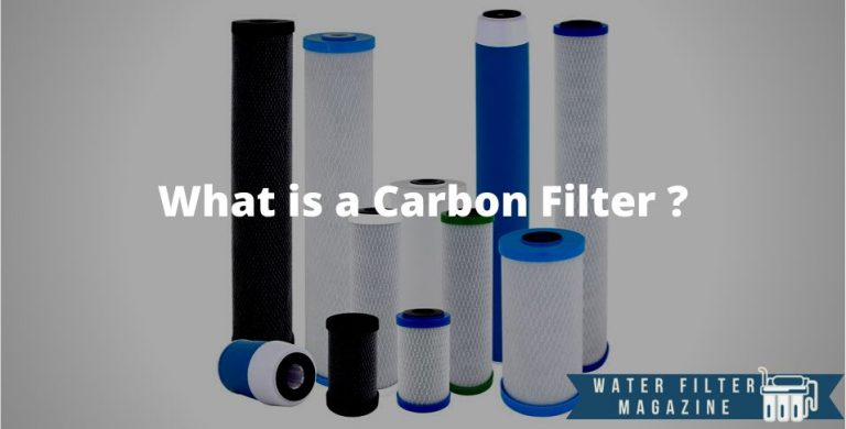 water treatment using carbon filters