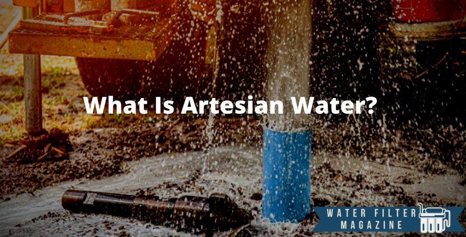 the definition of artesian water