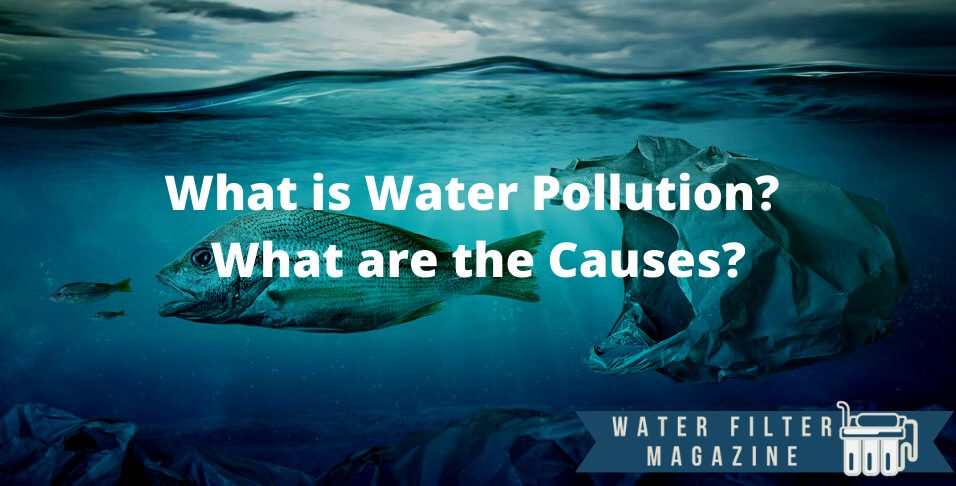 water pollution and causes